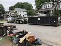 Garbage rules relaxed for flood areas
